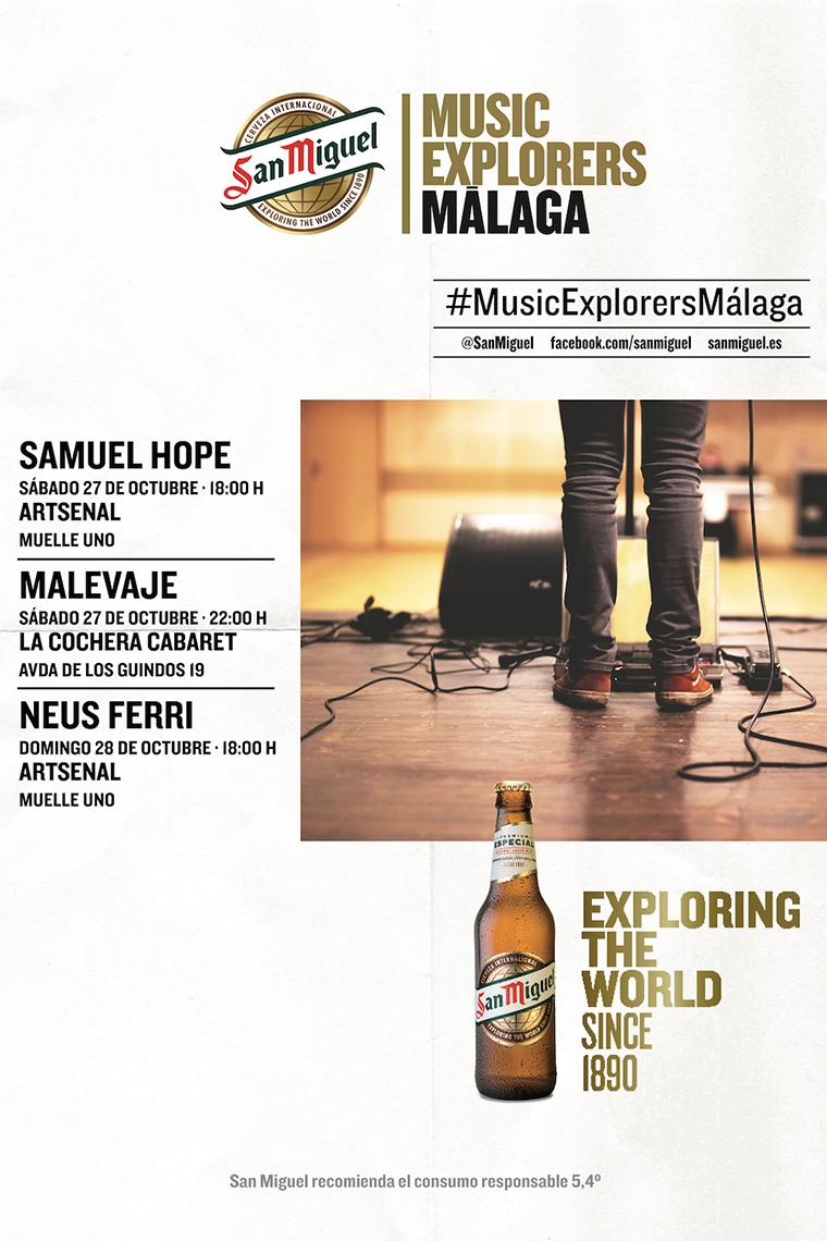 Ciclo de conciertos Music Explorers