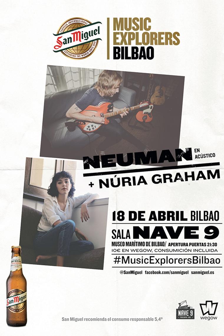 Concierto de Neuman y Nuria Graham
