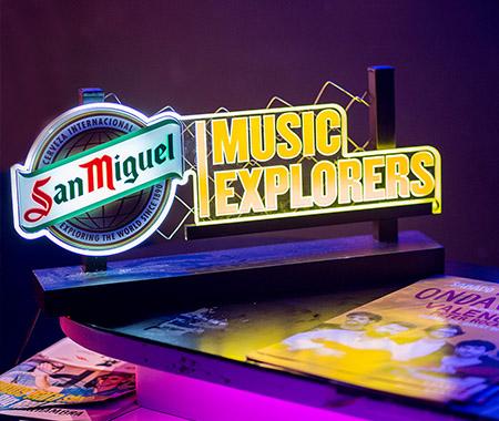 Promoción Music Explorers en Directo
