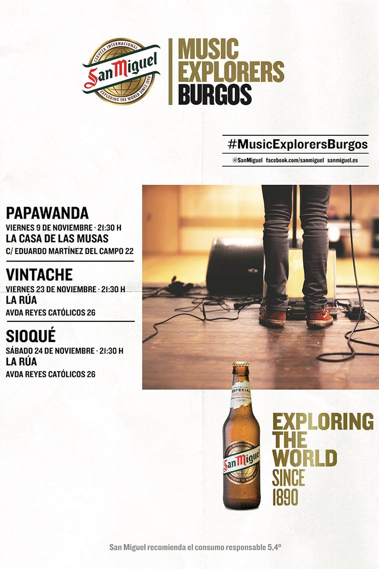 Ciclo de conciertos Burgos