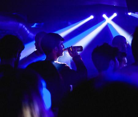 Fotografía del público de un concierto